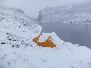 Camping at Lochan na Doire-uaine - After